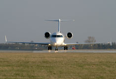 Plane before departure Royalty Free Stock Photography