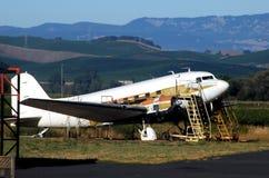 Plane Drydock Royalty Free Stock Photography