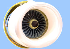 The plane engine Royalty Free Stock Photography