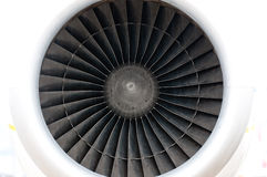 Plane engine Royalty Free Stock Photography