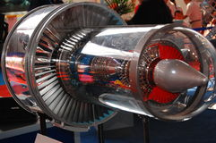 Plane engine Stock Image