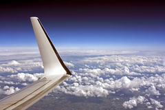 Plane flight Stock Photography