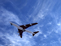 Plane Flying 3 Stock Image