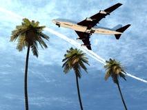 Plane Flying 8 Stock Photo