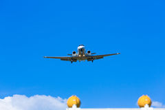Plane front Stock Photography