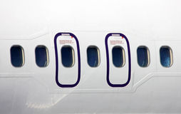 Plane fuselage Stock Photography