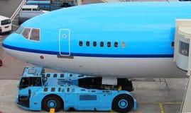 Plane at gate Royalty Free Stock Photo