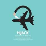 Plane Hijack Concept Abstract Design Stock Photos