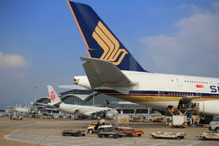 A380 plane Royalty Free Stock Photography