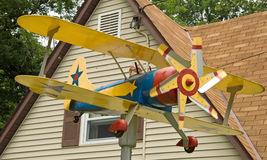 Plane house decoration Stock Photos
