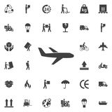 Plane icon vector royalty free illustration