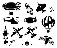 Plane icons  Stock Photos