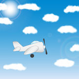 The plane -  illustration Stock Images