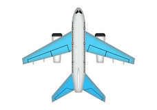 Plane illustration. Royalty Free Stock Images