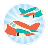 Plane Illustration Stock Image