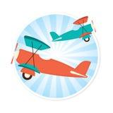 Plane Illustration Royalty Free Stock Photos
