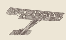 Plane Ilya Muromets Stock Image