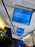 Plane interior Royalty Free Stock Photography