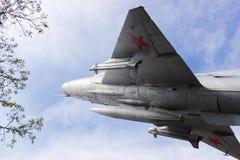 Plane MiG-21 Stock Photography