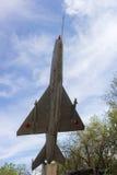 Plane MiG-21 Royalty Free Stock Photography