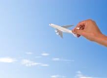 Plane model Stock Photo