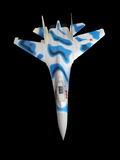 Plane model SU27 Stock Photos