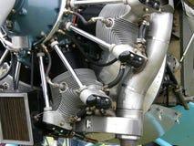 Plane motor Stock Image