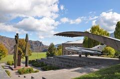 Plane in the museum Mikoyan brothers. Armenia, Alaverdi Stock Photo