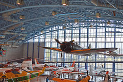 Plane museum in Shizuoka Royalty Free Stock Photo