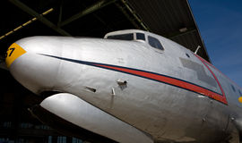 Plane nose Stock Photo