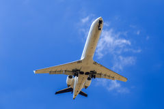 Plane overhead Stock Photos