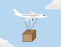 Plane Package Stock Photo