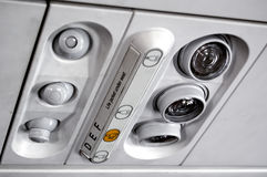 Plane panel Royalty Free Stock Image