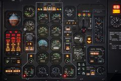 Plane Panel Royalty Free Stock Images