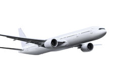 Plane with path Royalty Free Stock Photos