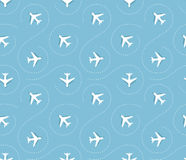 Plane pattern Stock Photo