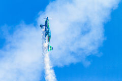 Plane Pilot Acrobatics Flying Royalty Free Stock Photography