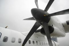 Plane propeller Stock Photos