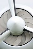 Plane propeller Stock Photo