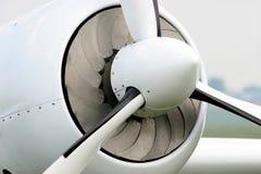 Plane propeller Royalty Free Stock Photo