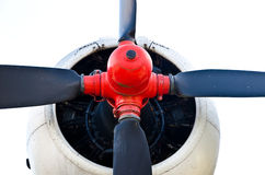 Plane propeller Stock Photo
