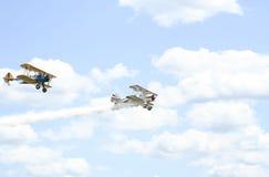 Plane race Royalty Free Stock Photo