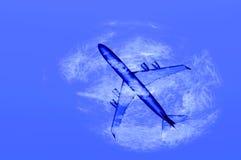 Plane render Stock Photo