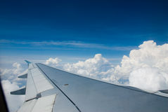 Plane ride Royalty Free Stock Photos