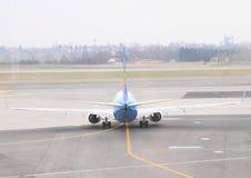 Plane rolling Stock Image