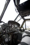 Plane's cockpit - closeup - Stock Image Stock Photography