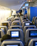 Plane seats Stock Photo