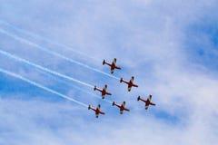 Plane show in Australia. royalty free stock photos