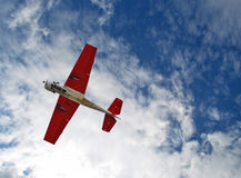 Plane in the sky Stock Images