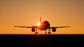 plane skyen Royaltyfri Foto
